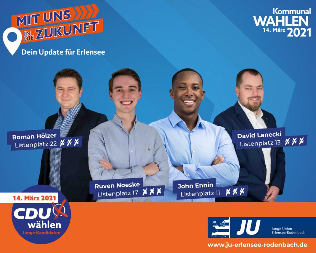 Junge Kandidaten - Mit uns in die Zukunft